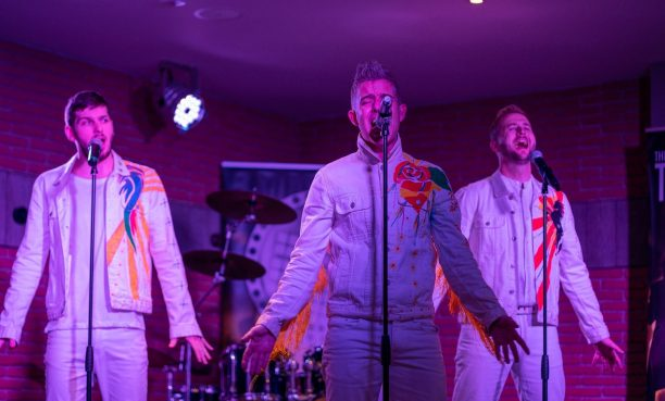 The take That Show at Shans Cabaret Bar Yate