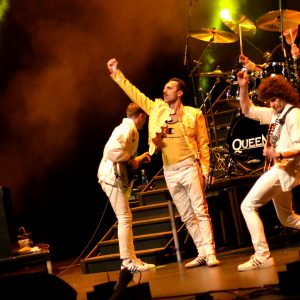 Flash Queen Tribute Band at Shan's