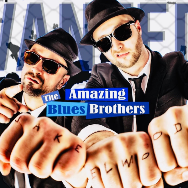The Blues Brothers Tribute act at Shan's