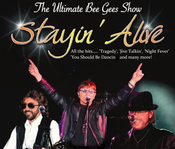 Bee Gee Staying Alive Tribute at Shans