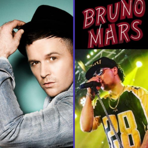 Olly Murs and Bruno Mars Tribute at Shans